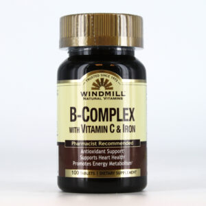 b complex with iron tab
